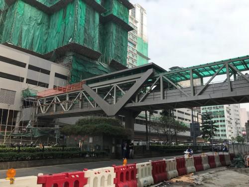 Construction of Concrete Structure for Footbridge