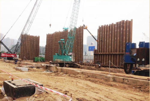 Construction of basement, ELS works and other associated services